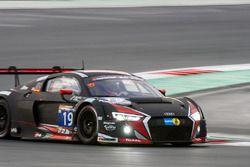 #19 Belgian Audi Club Team WRT Audi R8 LMS: Michael Meadows, Stuart Leonard, Laurens Vanthor