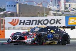 #2 Abu Dhabi Racing Black Falcon Mercedes AMG GT3: Khaled Al Qubaisi, Hubert Haupt, Jeroen Bleekemolen, Maro Engel, Indy Dontje