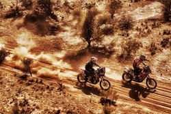 #71 KTM: Jun Mitsuhashi and #40 KTM: Jurgen van den Goorbergh