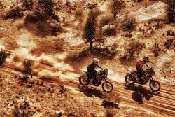 #71 KTM : Jun Mitsuhashi et #40 KTM : Jurgen van den Goorbergh