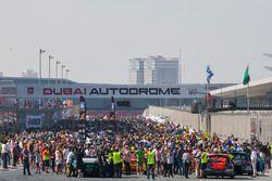 شبكة انطلاق سباق دبي 24 ساعة