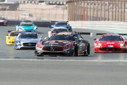 #2 Abu Dhabi Racing Black Falcon Mercedes AMG GT3: Khaled Al Qubaisi, Hubert Haupt, Jeroen Bleekemol