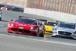 #11 Scuderia Praha Ferrari 458 Italia GT3: Jiri Pisarik, Peter Kox, Matteo Malucelli, Matteo Cressoni