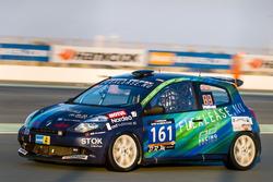#161 AD Racing/Flexlease.nu Renault Clio Cup III: Mikkel Thybo Løvendahl Gregersen, Søren Zylauv, An