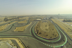View over the track