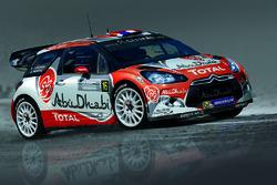 Presentación de Stéphane Lefebvre y Gabin Moreau, Citroën DS3 WRC