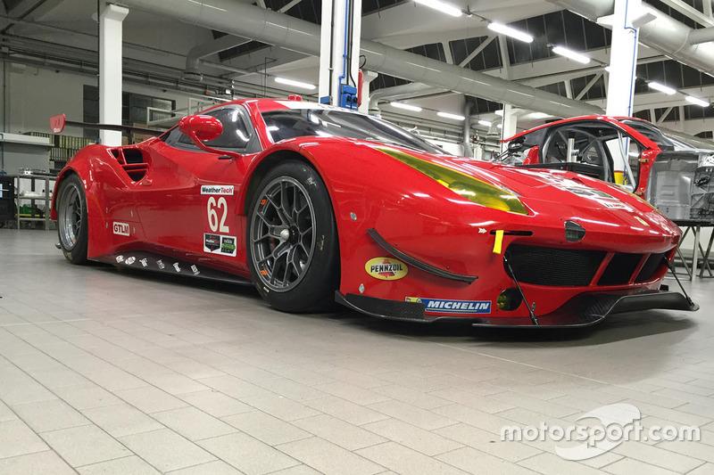 Présentation de la Ferrari 488 GTLM du Risi Competizione