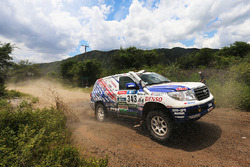 #343 Toyota: Nicolas Gibon, Jean-Pierre Garcin