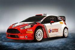 Robert Kubica, Ford Fiesta RS WRC, Rally di Monte-Carlo