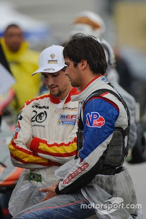 Nelson Piquet Jr. and Henrique Baptista