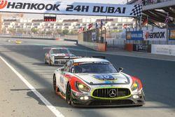 #30 Ram Racing Mercedes AMG GT3: Paul White, Tom Onslow-Cole, Thomas Jäger, Stuart Hall, Roald Goethe