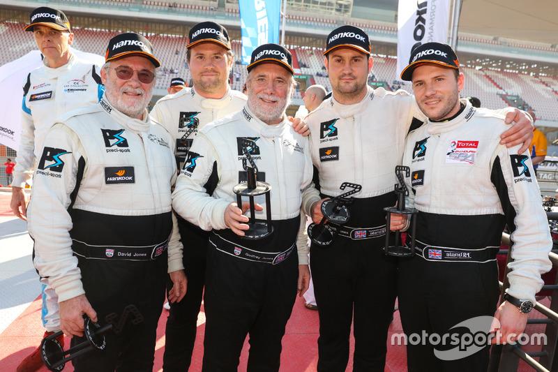 #22 Preci - Spark Mercedes SLS AMG GT3: David Jones, Godfrey Jones, Morgan Jones, Philip Jones, Gareth Jones