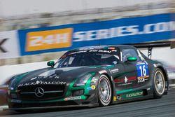 #16 Black Falcon Mercedes SLS AMG GT3: Adam Christodoulou, Oliver Webb, Patrick Assenheimer, Oliver Morley, Frank Montecalvo