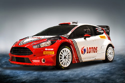 Livery for Robert Kubica and BRC Racing's Ford Fiesta