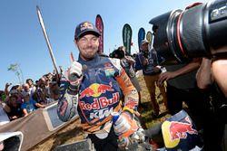 Winnaar bij motoren: Toby Price, KTM