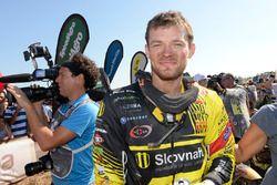 Stefan Svitko, segundo lugar, motos
