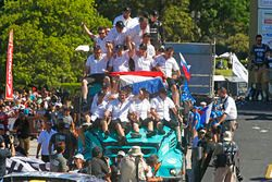 Ganadores, camión #501 Iveco: Gerard de Rooy, Moises Torrallardona, Darek Rodewald