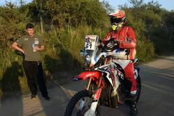 #61 Honda: Adrien Metge con Marc Coma
