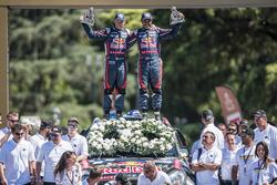 Autos, segundo lugar, Nasser Al-Attiyah y Matthieu Baumel