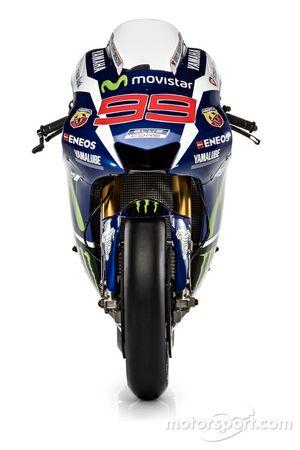 Jorge Lorenzo'nun Yamaha YZR-M1'i, Yamaha Fabrika Takımı