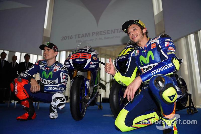 Jorge Lorenzo y Valentino Rossi, Yamaha Factory Racing