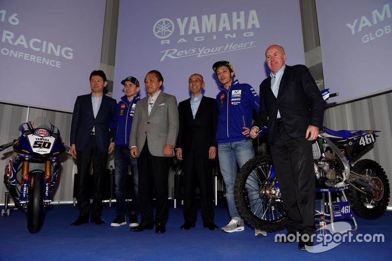 Press Conference 2016 Yamaha Sport