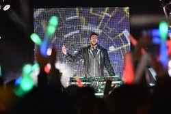 DJ Kap Slap bei der Indianapolis Silvesterparty
