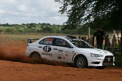 Jose Luis Jacquet Rios, Mitsubishi Lancer Evolution X