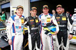 Sebastian Asch, Luca Ludwig, Zakspeed Mercedes-Benz SLS AMG GT3 Takımı ve Harald Proczyk, Andreas Si