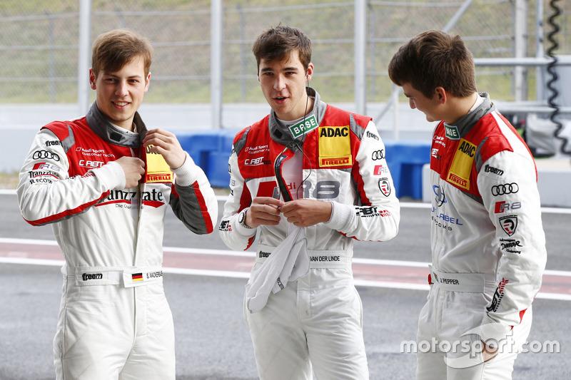 Stefan Wackerbauer, Kelvin van der Linde, Jordan Pepper, C. Abt Racing Audi R8 LMS ultra
