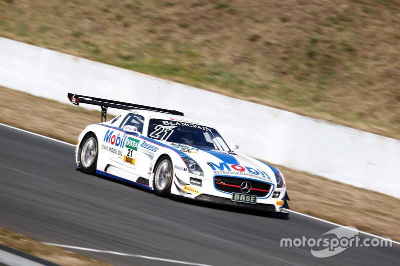 Sebastian Asch, Luca Ludwig, Team Zakspeed Mercedes-Benz SLS AMG GT3