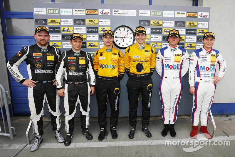 Harald Proczyk, Andreas Simonsen, HP Racing Mercedes-Benz SLS AMG GT3; Christian Engelhardt, Klaus B