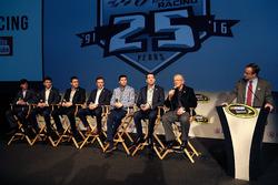 All drivers of Joe Gibbs Racing