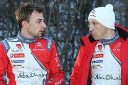 斯蒂芬·勒菲弗尔、克里斯·米克,雪铁龙WRC车队
