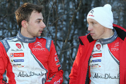 Стефан Лефевр и Крис Мик, Citroën DS3 WRC, Abu Dhabi Total World Rally Team