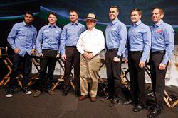 Darrell Wallace Jr., Ryan Reed, Chris Buescher, Jack Roush, Trevor Bayne, Ricky Stenhouse Jr., Greg