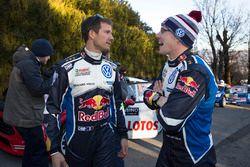 Sébastien Ogier and Jari-Matti Latvala, Volkswagen Motorsport