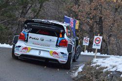 Andreas Mikkelsen und Anders Jäger, Volkswagen Polo WRC, Volkswagen Motorsport
