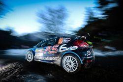 Elfyn Evans, Craig Parry, M-Sport World Rally Team, Ford Fiesta WRC