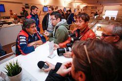 Área del equipo Michel Nandan, Hyundai Motorsport