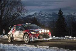 Stéphane Lefebvre y Gabin Moreau, Citroën DS3 WRC, Citroën World Rally Team