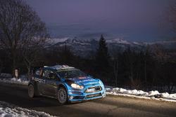 Eric Camilli und Nicolas Klinger, M-Sport Ford Fiesta WRC