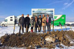 Juncos Racing breaks ground on new facility