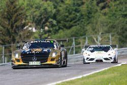 #42 HP Racing Mercedes-Benz SLS AMG GT3: Harald Proczyk, Andreas Simonsen
