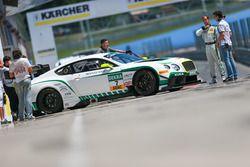 #7 Bentley Team HTP Bentley Continental GT3: Jereon Bleekemolen, Luca Stolz