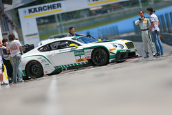 #7 Bentley Team HTP Bentley Continental GT3: Jereon Bleekemolen, Luca Stolz