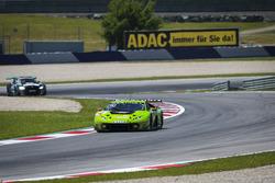 #63 GRT Grasser Racing Team Lamborghini Huracan GT3: Adrian Zaugg, Mirko Bortolotti