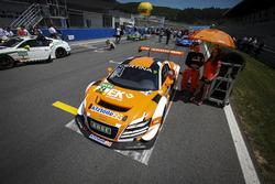 #24 kfzteile24 MS RACING Audi R8 LMS ultra: Florian Stoll, Marc Basseng
