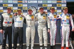 #66 Callaway Competition Corvette Z06.R GT3: Andreas Wirth, Daniel Keilwitz, #25 Reiter Engineering