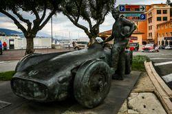 Statua di Fangio